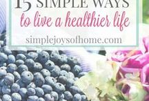 Natural Living at Simple Joys Of Home / Everything you need to know about natural cleaning, DIY products, nutrition and home remedies to encourage and inspire you to live a natural and healthy lifestyle.