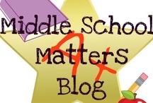 My Teaching Blog / This is a great place to find and share ideas about all that matters in middle!  Take a look...