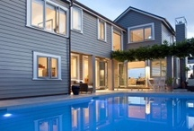 Design Ideas / Stunning idea's for your home or project. Most buildings here the materials used, utilises aluminium joinery.