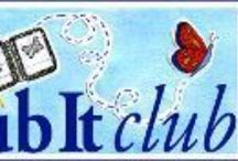 Sub It Club Logos by Dana Carey / Dana Carey manages our images, interviews illustrator in our Postcard Posts, and encourages us with her monthly Goalpost. She is the ARA of SCBWI France. You can find her at http://danacarey.blogspot.com/