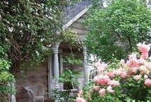 Cottage Garden Ideas / If you LOVE old, shabby, cottage style yards we are of like minds! Enjoy....... / by Teresa Wendt