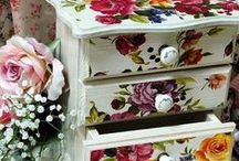 OBJECTS DECORATED WITH CALAMBOUR PAPERS & PRODUCTS / your #creations with calambour's papers & products