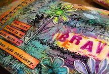 art & art journals / art, art journals, travel journals, diy, crafts, artwork