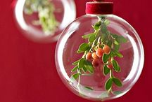 Glass ball decoration