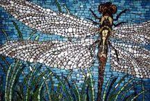 mosaics / mosaic art, mosaic artwork, mosaics, glass tile work