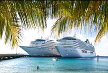 Shipmates / A collection of the great moments when our two ships, Crystal Serenity and Crystal Symphony, are caught together!  / by Crystal Cruises