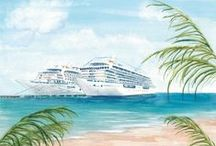 Crystal Watercolors / by Crystal Cruises