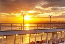 Crystal Under the Sun / Explore every way to soak in the sun on Crystal, like exotic locales, bright ship decks and stunning sunsets at sea.