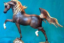 Breyer & Other Statuettes / I continue to be fascinated with my favorite childhood toy. / by Peggy Roosa
