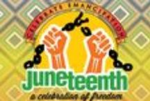 TCXPI Presents - The Sesquicentennial (150th) Anniversary - Juneteenth Independence Day 2015 - / TCXPI has created this board to present Juneteenth celebrations happening all over the US.  Juneteenth is a celebration held annually on the nineteenth of June by African Americans (especially in the southern states), to commemorate emancipation from slavery in Texas on that day in 1865.