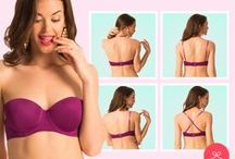 Strapless & Multiway Bras / Multiple ways to wear it, for everyday or special occasions. / by PrettySecrets