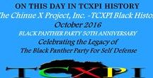 TCXPI Presents: The Black Panther Party 50 / TCXPI will celebrate the Black Panther Party For Self Defense in the month of October with a daily presentation of BPP facts.