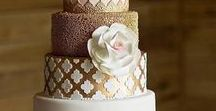 Time To Cut The Cake / Browse some of the most exquisite wedding cakes here! Be sure to pin them for wedding inspiration and share them with your local baker. Visit us to learn more about our luxury wedding and event planning services at www.EventsbyTMA.com