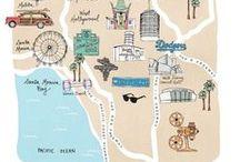 INSPIRATION   CARTE / Passion #Carte de voyage... #map