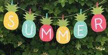 cumple tropical 11 paula / decoración tropical para el 11 cumpleaños de Paula