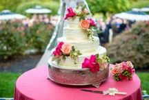 The Cakes / For some guests at your reception, the cake is almost as exciting as the wedding itself! Take a look through some of the most gorgeous and unique cakes around, both from weddings at the Manor and from weddings elsewhere!