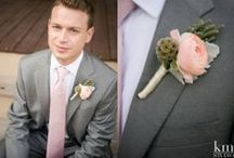 The Men / Although the bride is likely the one most people will be looking at, the men need to look good, too!