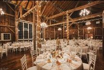 BMH Receptions | Manor Barn / The climate-controlled Manor Barn is an ideal option for weddings throughout the year. The barn is comprised of multiple areas that can be used for any aspect of your event, with sit-down seating for up to 200 guests.  The Gathering Room is circa 1794, and was brought and rebuilt here on Brandywine Manor House property. In 2014, an early 1800's barn, the Loft, was attached to the Gathering Room, creating a gorgeous location and allowing for use of multiple spaces within the Manor Barn.