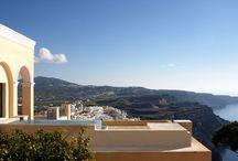 Archipel Mansion / private house standing on top of the Santorini Caldera. luxury mansion for holiday rental. https://www.facebook.com/MaisonLArchipel  HOTEL VILLA SANTORINI