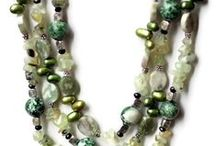 MultiStrand Necklaces / Multi Strand layered necklaces create a complex, rich look that works well with both business and party attire