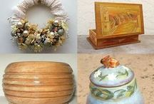 Beautiful Treasuries / Lovely collections of Etsy items from me and my friends