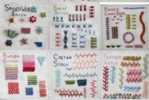 embroidery & other stitchy stuff / by Betti Diem