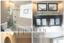 Bathrooms / Showcasing bathrooms that we have rehabbed and that inspire us