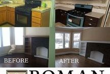 Transformations by Roman Realty / Before and after photos of rehabbed  properties by Roman Realty Group