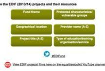 The EDIF 2013/14 projects / EDIF project snapshots to entice you to visit their project pages