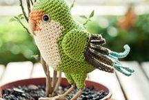 Hæklede fugle.
