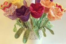 Crochet Flowers / by Vanita Anand