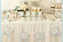 Oh boyyy! Baby Shower Inspiration xx / Inspiration on planning the perfect baby shower for a little boy