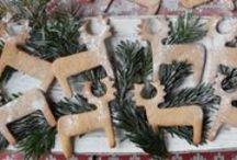 Christmas cookies / Stylish Christmas cookies