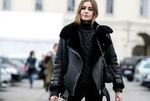 Trend: The Shearling Jacket / Shearling Jacket, Biker Jacket, Acne Studios, Acne Jacket, Leather Jacket, Aviator Jacket