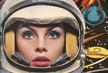 Moonage Daydream / Space Age Fashion, Futuristic Style, Vintage, Retro, Space Travel