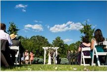 "BMH Ceremonies | Lakeview / Situated in front of the pond, the Lakeview is complete with matching beautiful gardens on each side and an arbor under which to say ""I do"". Beginning at the pergola and crossing over a beautiful footbridge, your processional gives both you and your guests plenty of time to take in the beauty and meaning of the moment! / by Brandywine Manor House"