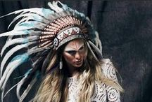 getting  t r i b a l / tribal, ethnic, native, style, heritage, tradition