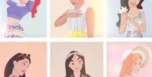 Heroines/Princesses / Disney, Non-Disney, Movies, Comics, OUAT, EAH, Fanarts,  Toys, Decor....