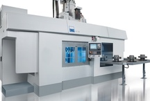 EMAG Vertical Multifunctional Production Machines VLC / Combined turning and machining center: VLC production machine  The VLC Vertical Turning Center has a sturdy MINERALIT® machine base made of high quality polymer granite. This type of construction guarantees high precision, outstanding surface finish and extended tool life when machining chucked parts. VLC production machines with optional drilling, milling or grinding spindles – which can also be used in pairs – offer a combination of turning and machining operations