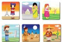 Hafıza Oyun Kartları (Eşini Bul, Eş Bulma Oyunu) / Okul öncesi eşini bul, eş bulma, hafıza oyun kartı, eşleştirme oyunu, eşleştirme kartları, hafıza kart oyunları ve gibi isimlerle bilinen eğitici oyunlar.