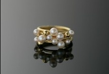 Bubbles / pearl and gold jewelry collection.