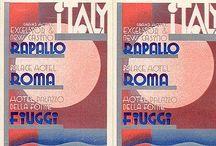 Vintage Italian Travel Postcards