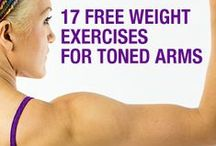 Fueled Arms / Exercises to tone and strengthen your arms and shoulders / by Octane Fitness