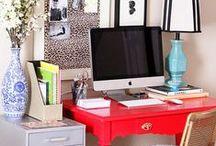 Office - Organize - Improvement List / Love an Office that is Organized www.improvementlist.blogspot.com