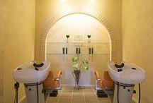 salon alam, / 自然を感じられるような新築美容室デザイン事例