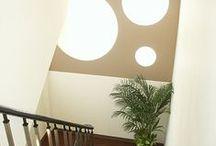 healing studio MI-NE (renovation) / 築20年 美容室のリフォームデザイン事例