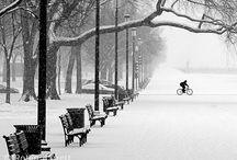 Winter Cycling / Winter is a wonder-filled time to ride your Bicycle. Don't wait until the white magic is gone!