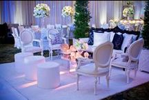All White Event decor / from weddings to cocktail parties and everything in-between
