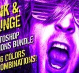 Photoshop Actions :: Creative Market shop / #photoshop #action #actions #addon #addons #preset #presets #filter #filters #retouch #retouching #atn #psd #creativemarket