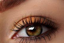 Autumn Orange Eyeshadow / Autumn Orange Eyeshadow